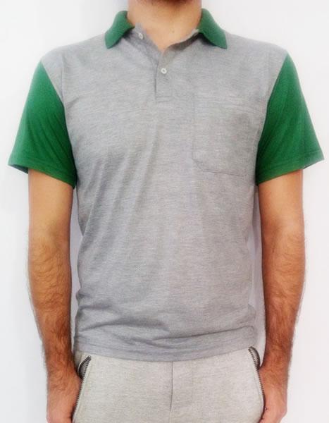 140427f247 Descrição - 01 Camiseta Polo Malha Fria
